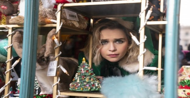 The mother of Dragons celebrates with family, alcohol, and Love Actually