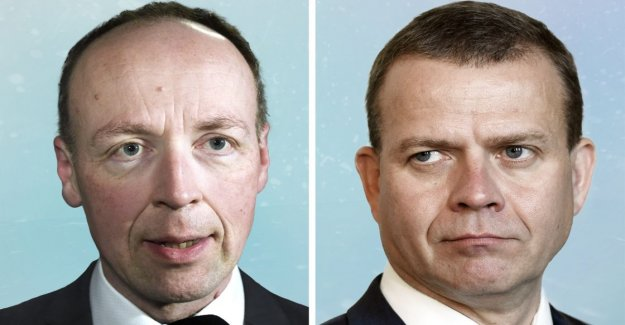 The opposition upset the Post-soup a new twist: Halla-aho of the flash to the Slope difference, the orphan, according to the prime minister does not deserve confidence