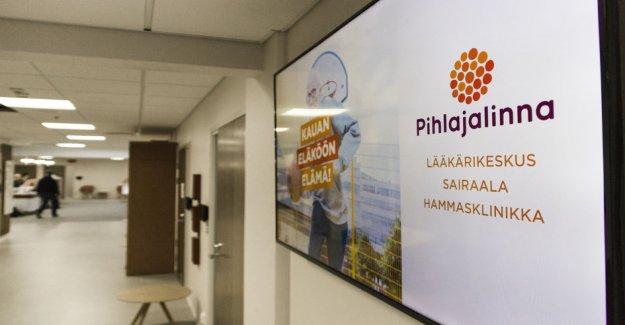 The researcher sees a number of risks – health services are concentrated in finland, the two great giants: Easy fruit has already been picked