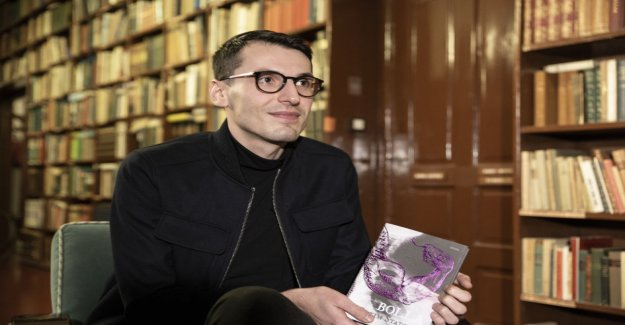 The youngest ever non-fiction Finlandia prize winner Pajtim Statovci Yle interview: Typing trying to make sense of what kind of place I come from