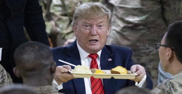 Trump surprised with a troop visit in Afghanistan