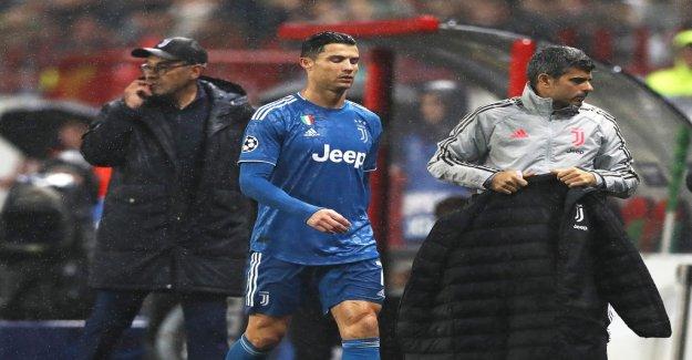 Turbulence in Turin – angry Ronaldo leaving stadium