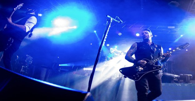 Volbeat-band of tomorrow's gig in Helsinki Arena is cancelled – organizer according to the Mail support due to a strike