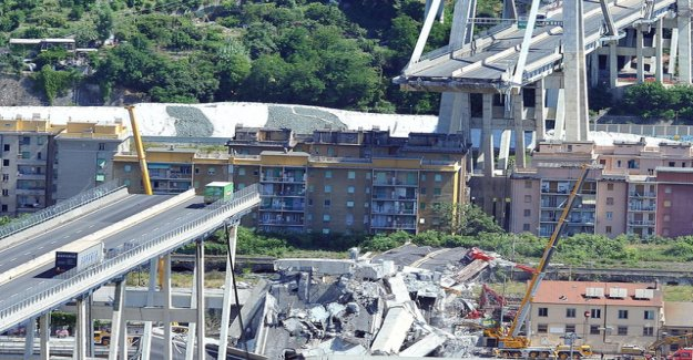 Worse suspected for Bridge collapse of Genoa