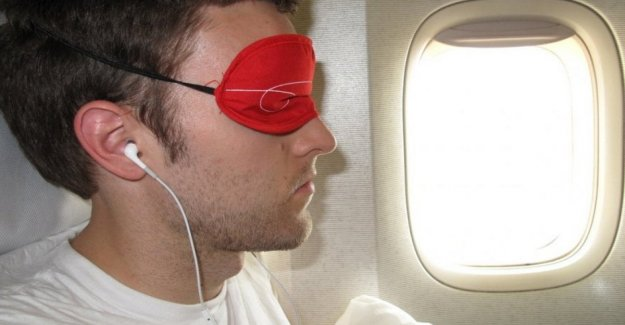 A device to tell you when you can sleep against the jet lag