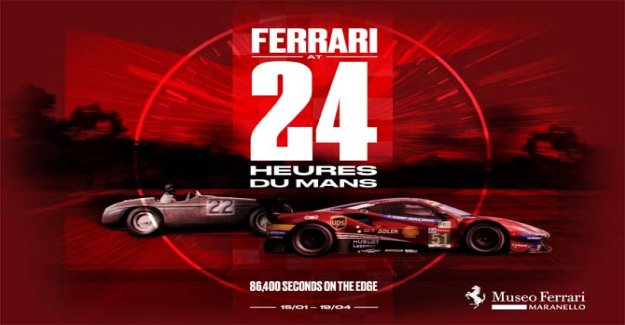 At the Ferrari Museum an exhibition dedicated to the achievements of The Mans
