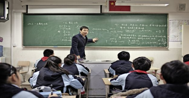 Chinese spend the most money for the education of their children