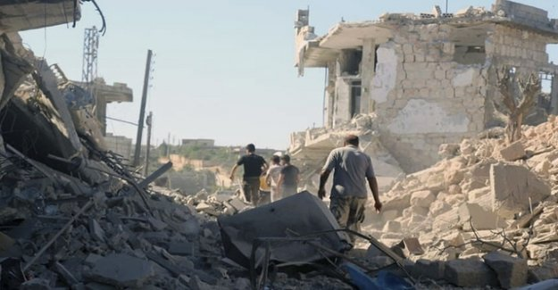Fighting in Northern Syria in flames again
