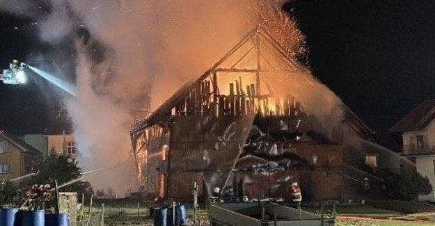 Fire series in Merenschwand: police arrested ten people