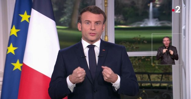 France, the promise of a Macron in the discourse of the end of the year: The pension reform will be completed
