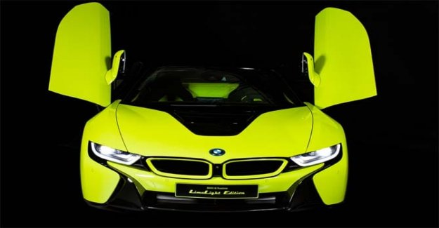 From Bmw and Alcantara, the i8 Roadster Limelight Edition