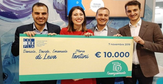 From sand to glass and Pet material for furnishings: the startup of molise, rewarded by Corepla
