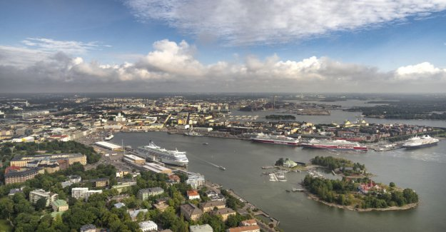 Helsinki bridle ships tupruttelua ports million investment – a Significant impact on climate emissions