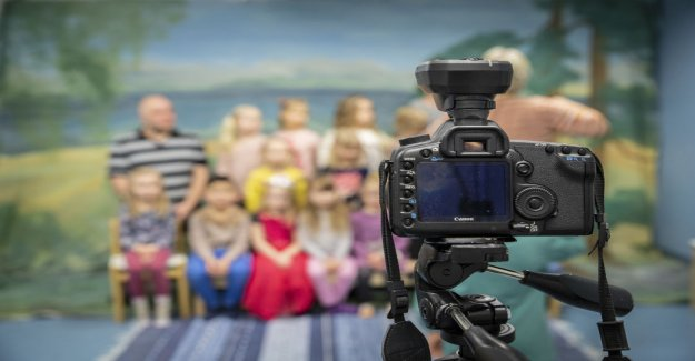 In many of the kindergartens is no longer taking children portraits – tightened the practice annoying part of the parents, the background of the employees wish