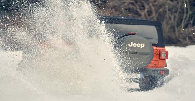 Jeep in the assault of the Deejay Xmasters Winter Tour 2020