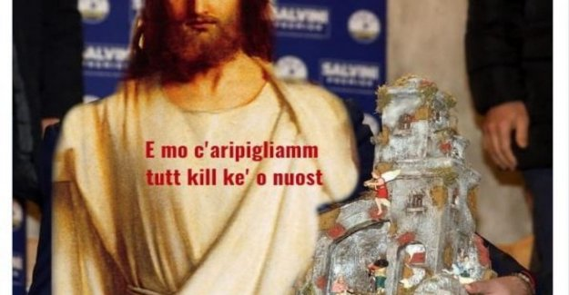 League tweet the image of Jesus with a phrase from Gomorrah