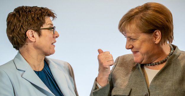 Merkel dares to conclude with a minority government?