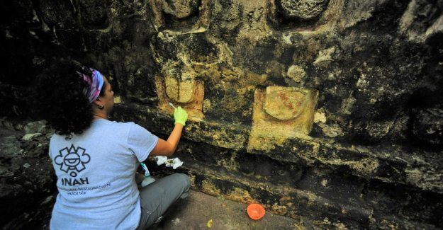 Mexico, the building discovered in the jungle that tells the story of the maya