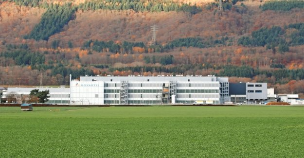 Novartis inaugurates production plant for high-tech therapies