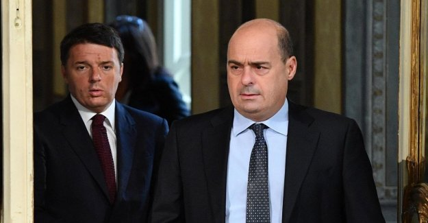 Palazzo Chigi: Review portion 100, and the income is not on the agenda