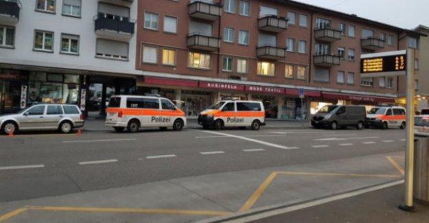 Police in Zurich-Altstetten – man with knife attacks
