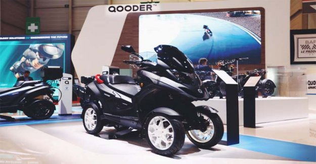 Qooder in the middle of the big; the leading role at the Geneva International Motor Show