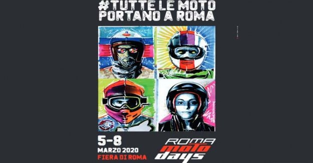 Rome Motodays, the poster is pure art