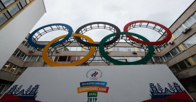 Russia for four years from the world of sports locked