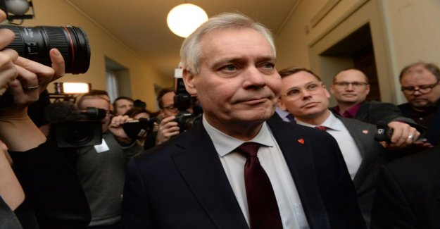 The SDP's parliamentary group to submit Antti slope of the government to scout for