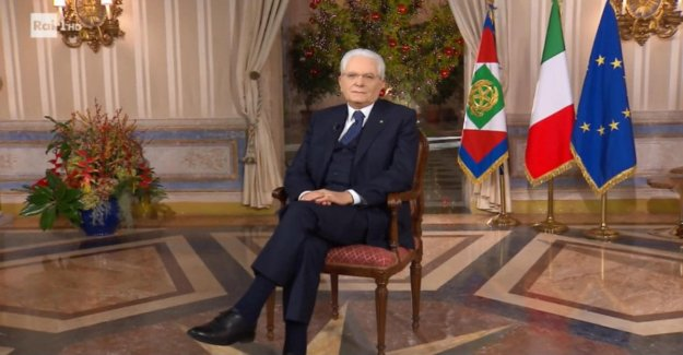 The message of the end of the year of Mattarella: Italy has more confidence in herself. More space to the youth, should be paid properly