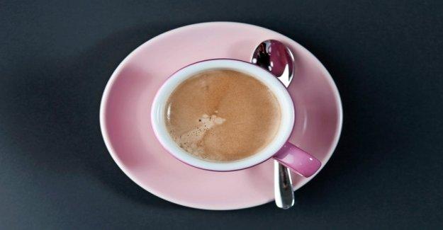 The price for a Café crème drops