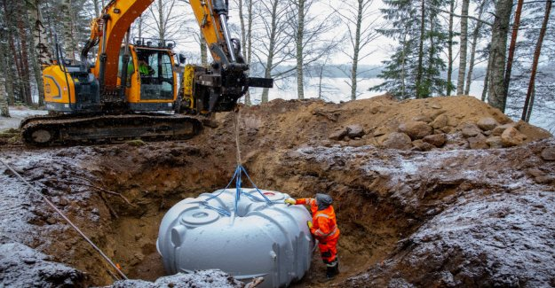 Waste water renovation make over 100 000 at the beach house: few people applied for a moratorium permit – see the statistics