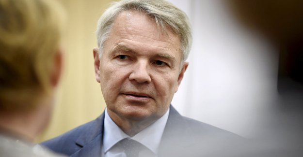 Watch live watch 20.55: the foreign minister, Pekka Haavisto, commented the allegations, foreign ministry officials, under pressure from