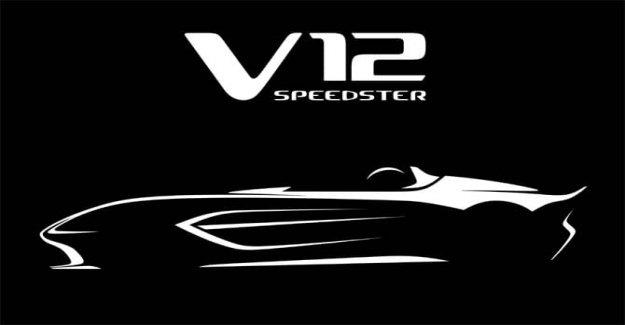 Aston Martin V12 Speedster, pure driving pleasure