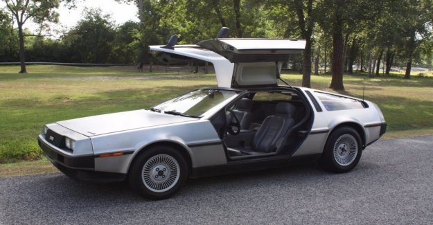 Back to the future: new production the legendary DeLorean