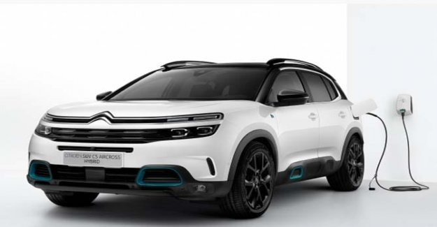 C5 Aircross Hybrid, the electrification of the Citroen