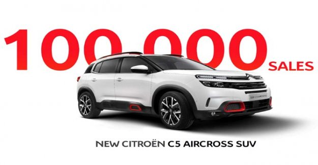 Citroën C5 Aircross, which record