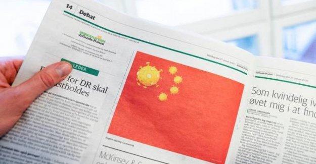 Coronavirus, cartoon Danish offensive to the chinese people. The ambassador: we Want an apology