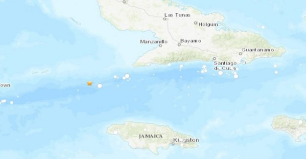 Earthquake of 7.7 between Cuba, Jamaica and Cayman Islands