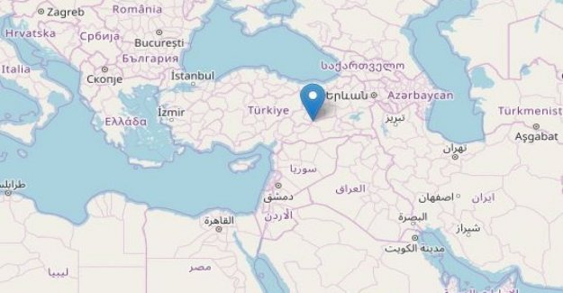Earthquake of magnitude 6,8 in the eastern Turkey: 4 dead