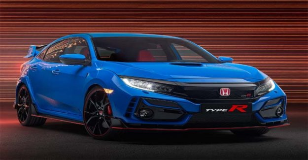 Honda, the first image of the new Civic Type R