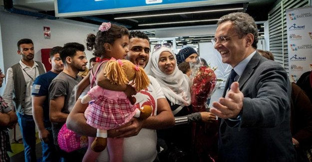 Humanitarian corridors, new arrivals of 86 syrian refugees from Lebanon