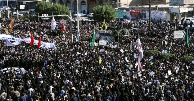 Iran, the return of Soleimani: the coffin to be welcomed by thousands of people