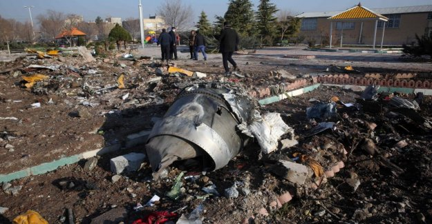 Iran tv status: aircraft shot down to human error. He was mistaken for a aircraft to hostile