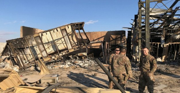 Iraq, 11 U.s. soldiers wounded in the iranian attack on 8 January