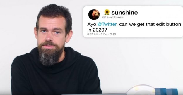 Jack Dorsey: Change the post? On Twitter it will not be possible