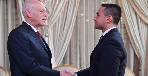 Libya, Maio in Tunis meets the president Said: there can be no lasting peace without the involvement of the neighbouring Countries,