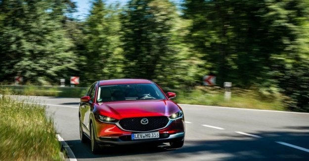 Mazda CX-30, the charm of the media