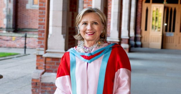 Northern ireland, Hillary Clinton, the new lab of the university of Belfast