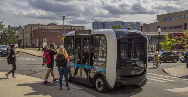 Olli, arrives in Italy the bus to guide the autonomous 3D printed